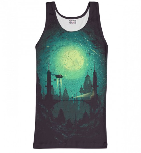 Futuristic City tank-top Thumbnail 1