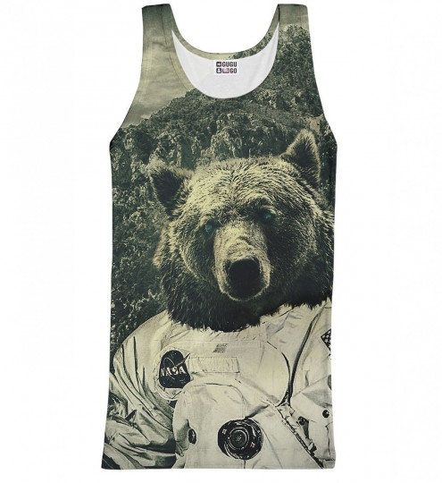 NASA Bear tank-top Thumbnail 1