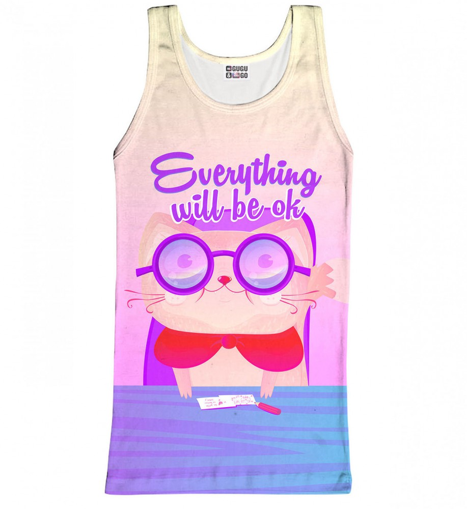 Mr. Gugu & Miss Go, Everything Will Be OK tank-top Image $i