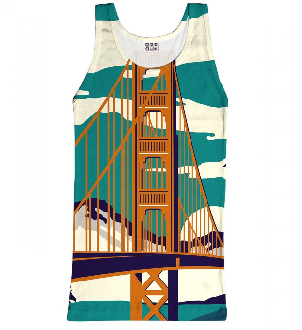 Golden Bridge tank-top Thumbnail 1