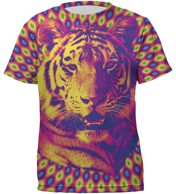 Crazy Tiger t-shirt for kids Thumbnail 1