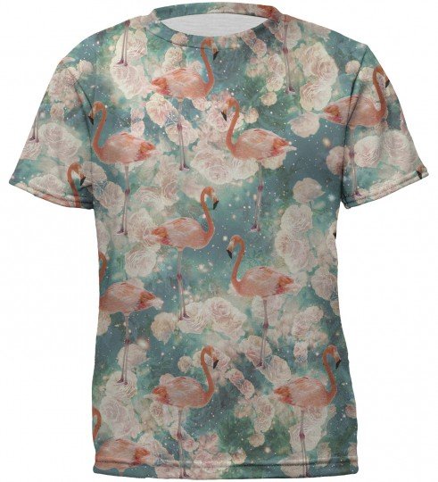 Flamingos t-shirts for kids Thumbnail 1