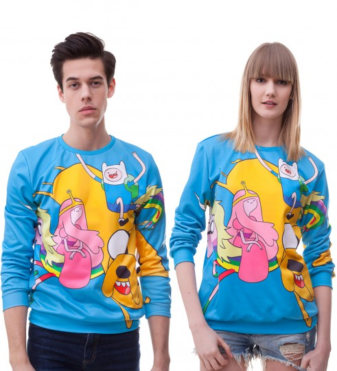 Hey Adventure Time sweater Thumbnail 2