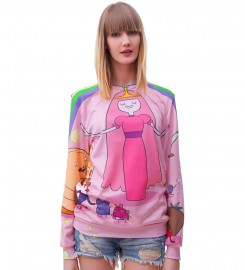 Mr. Gugu & Miss Go, Princes Bubblegum pink sweater Thumbnail $i