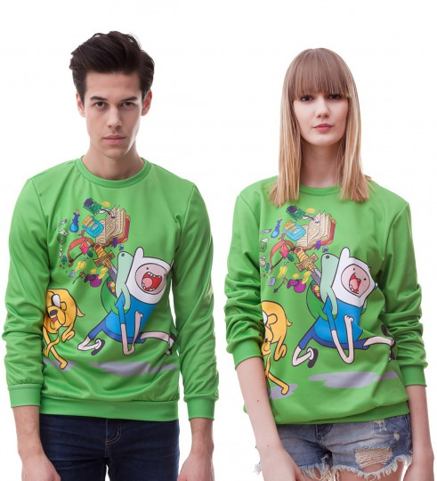 Green Jake & Finn sweater Thumbnail 2