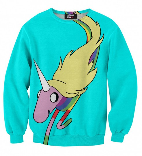Lady Rainicorn run sweater Thumbnail 1