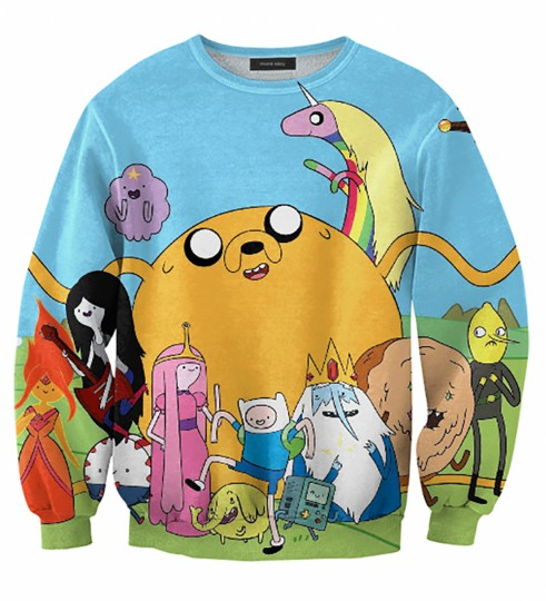 Adventure Time friends sweater Thumbnail 1
