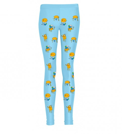 Finn and Jake adventure leggings Thumbnail 1