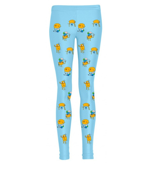 Finn and Jake adventure leggings Miniature 1