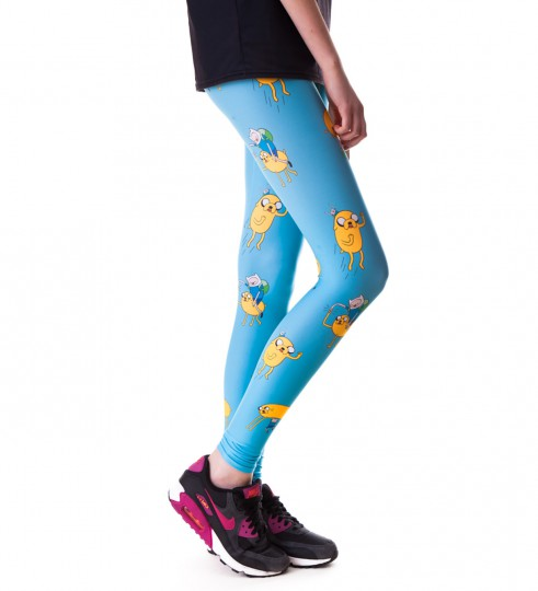 Finn and Jake adventure leggings Thumbnail 2
