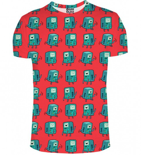 T-shirt BMO red Miniatury 1