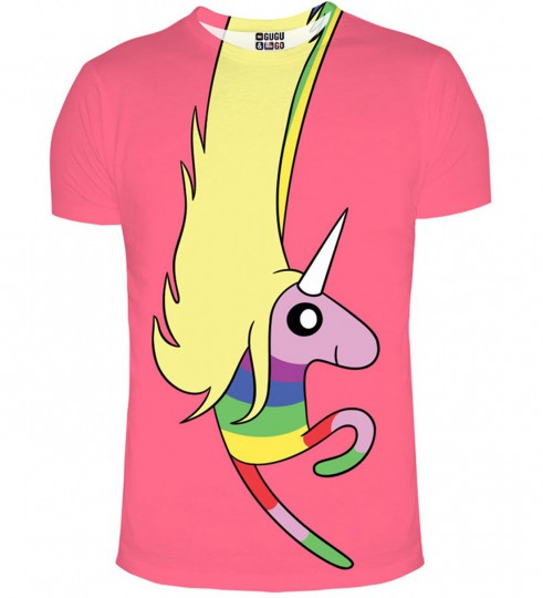 Lady Rainicorn pink t-shirt Thumbnail 1