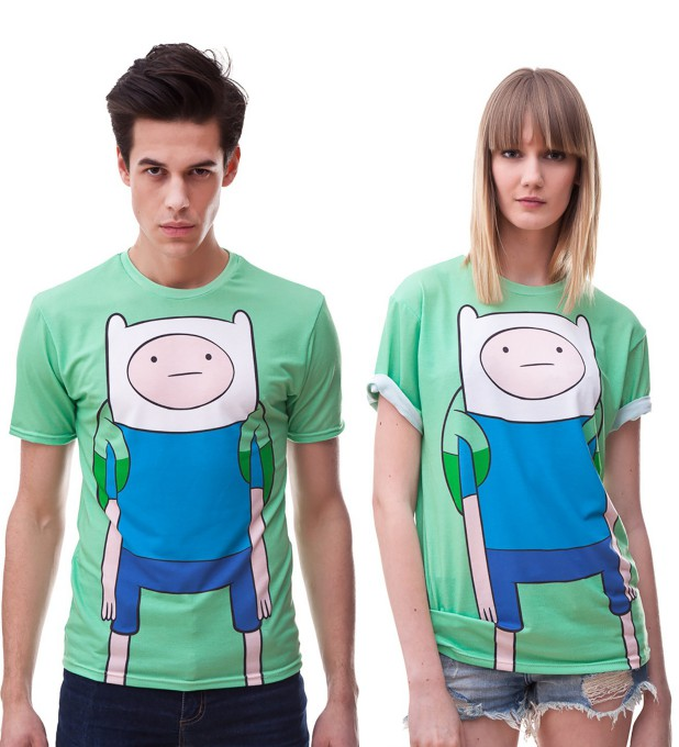 Finn green t-shirt Miniature 2