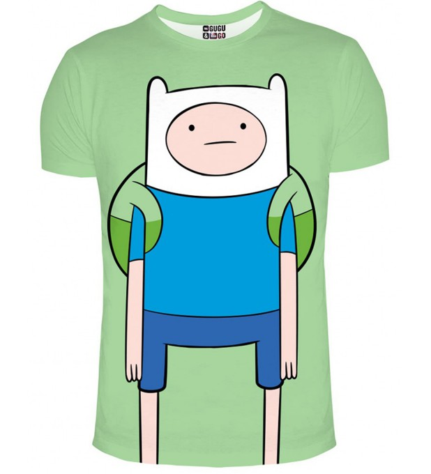 Finn green t-shirt Miniature 1