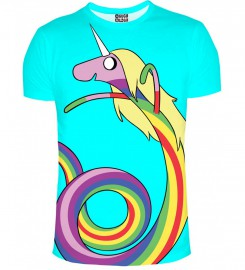 Mr. Gugu & Miss Go, Lady Rainicorn Turquoise t-shirt Thumbnail $i