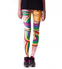 Mr. Gugu & Miss Go, Lady Rainicorn Love leggings Thumbnail $i