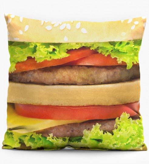 Hamburger pillow Miniature 1
