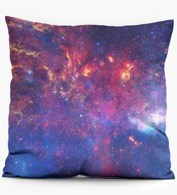 Purple nebula pillow Thumbnail 1