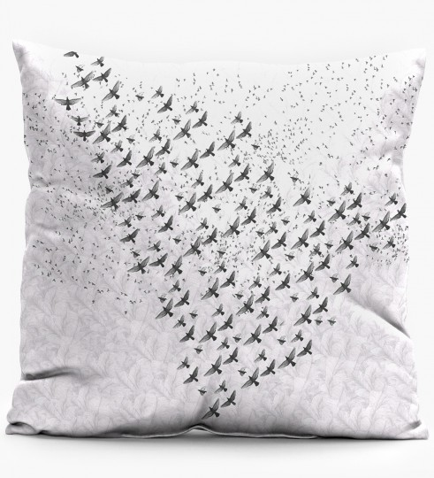 Birds pillow Miniature 1