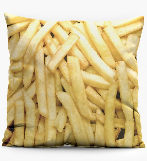 Fries pillow Miniature 1