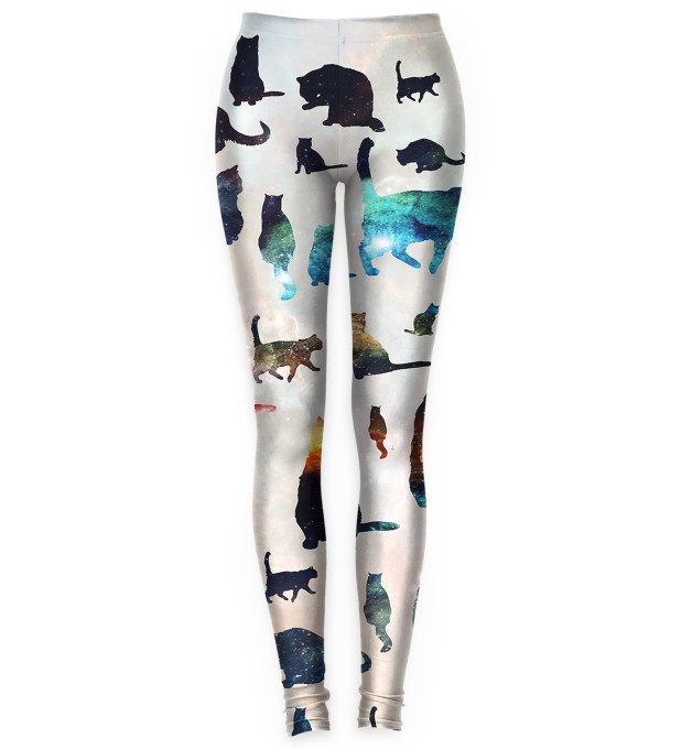 Galaxy Cats leggings Miniatura 1