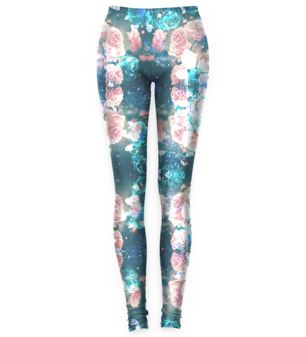 Blue Roses leggings Thumbnail 1