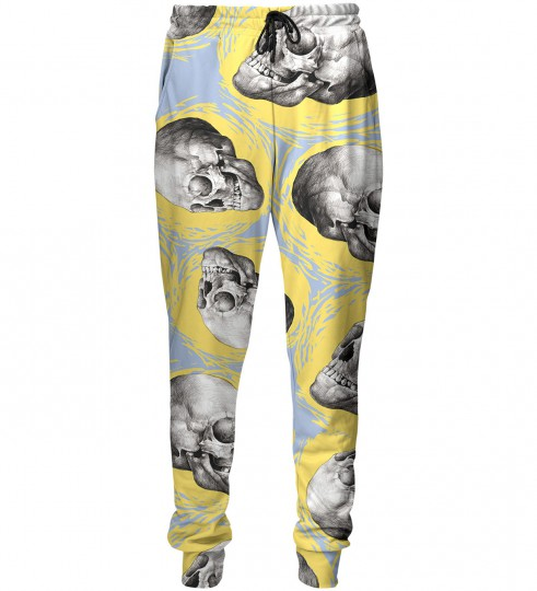 Sketch Skull sweatpants Thumbnail 1