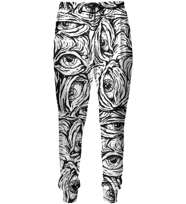 Creepy black&white sweatpants Thumbnail 1