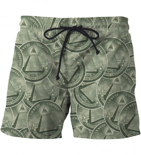 Illuminati swim shorts Thumbnail 1