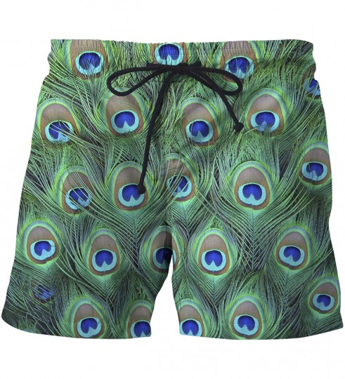 The Night Eye of the Peacook swim shorts Thumbnail 1