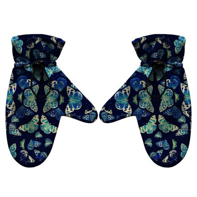 Butterflies gloves Thumbnail 1