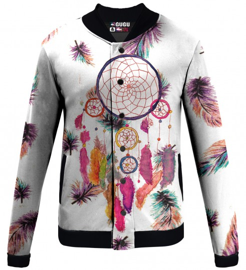 Feathers Dreamcatcher baseball jacket Thumbnail 1
