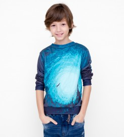 Flying man sweater for kids Miniatura 1