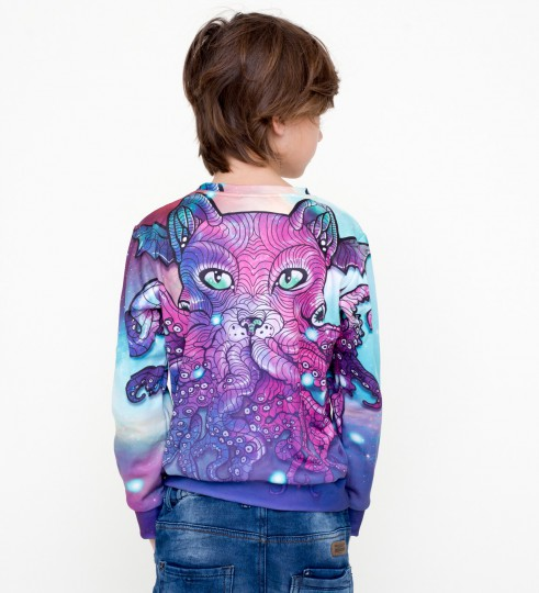 Octocat  sweater for kids Miniature 2