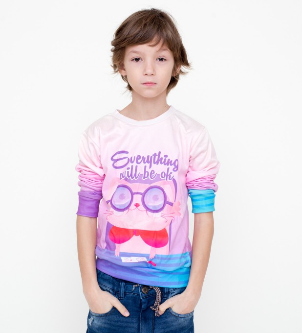 Everything will be OK sweater for kids Miniatura 1