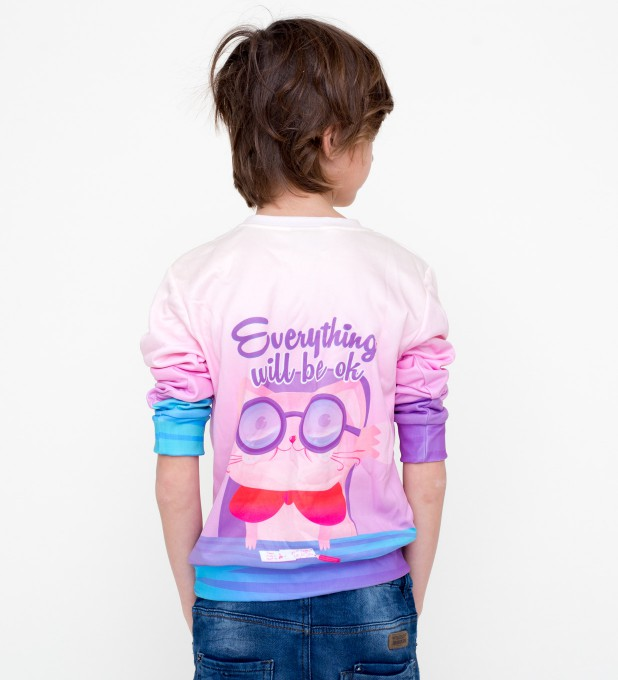 Everything will be OK sweater for kids Miniatura 2