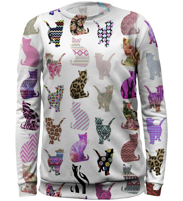 Comic cats sweater for kids аватар 1