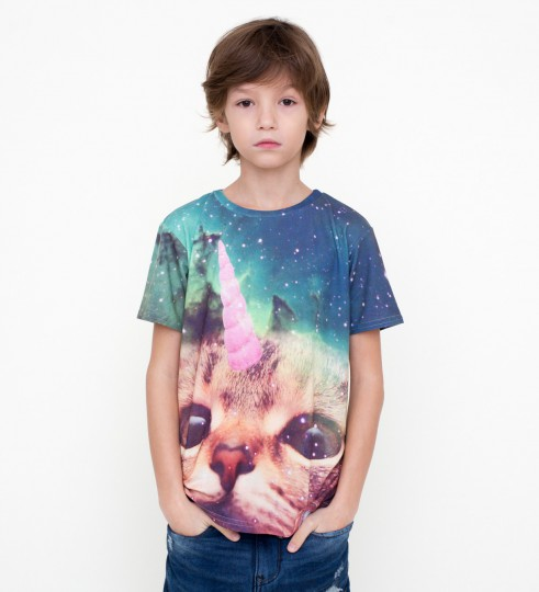 Unicat t-shirt for kids Thumbnail 1
