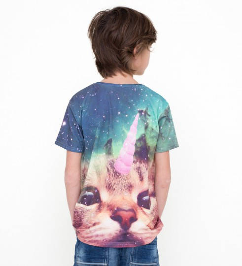 Unicat t-shirt for kids Thumbnail 2