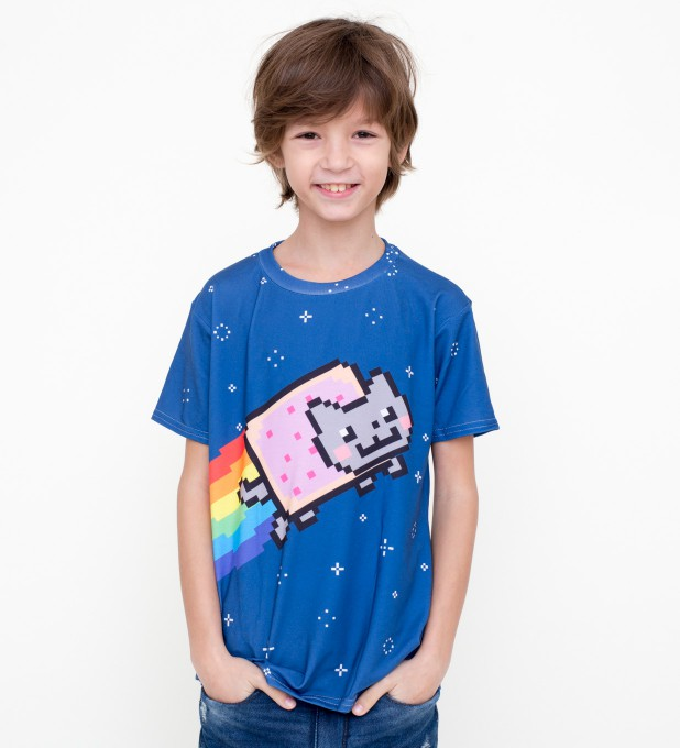 Nyan t-shirt for kids Thumbnail 1