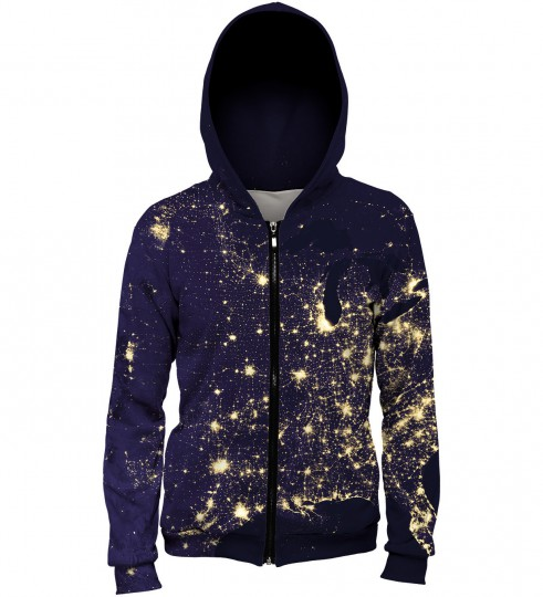 Light map hoodie Miniature 1
