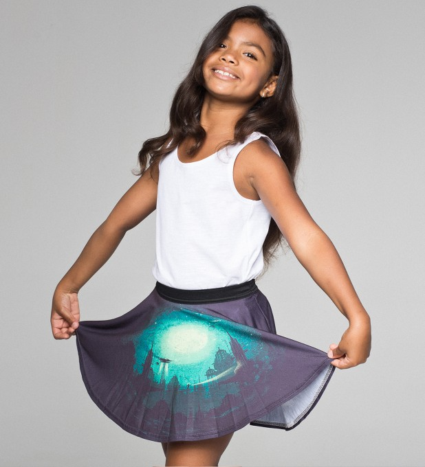 Futuristic circle skirt for kids Thumbnail 1