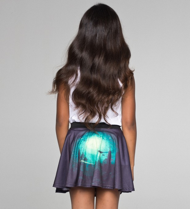 Futuristic circle skirt for kids Thumbnail 2