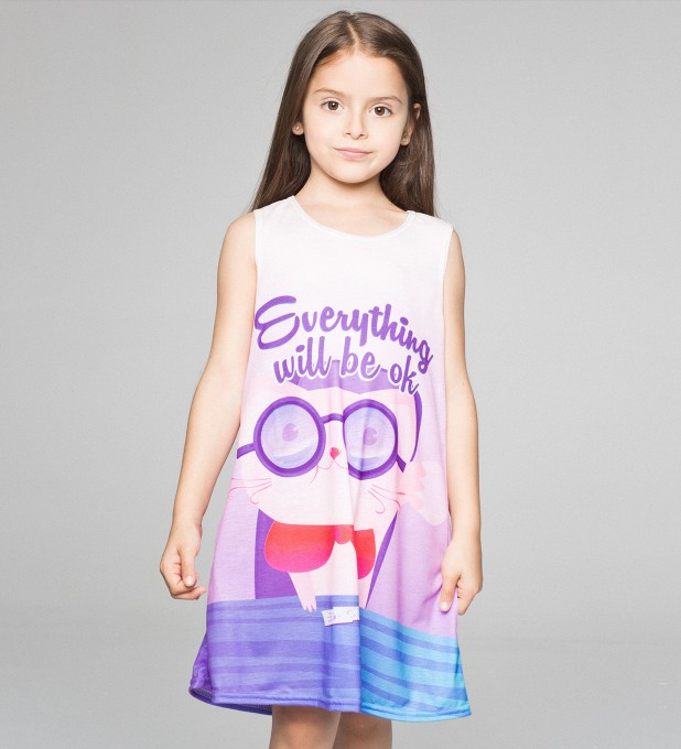 Everything will be ok robe pour enfants Miniature 1