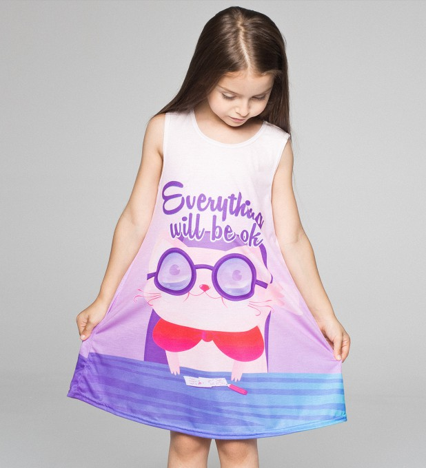 Everything will be ok summer dress for kids аватар 2