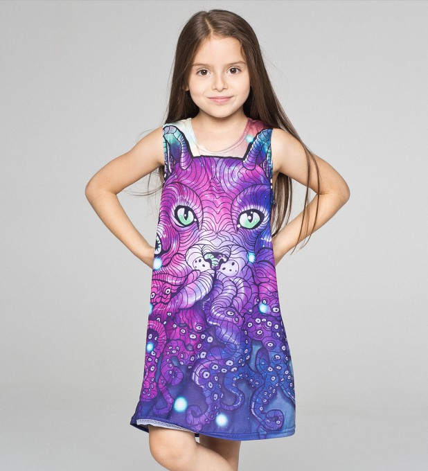 Octocat summer dress for kids Thumbnail 1