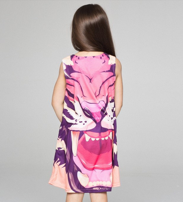 Comic Tiger summer dress for kids аватар 2