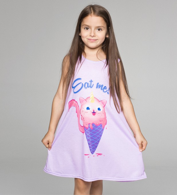 Catscream summer dress for kids Thumbnail 1