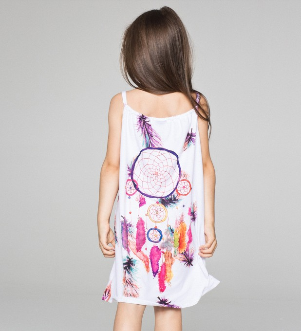 FEATHERS DREAMCATCHER sleeveless dress for kids Thumbnail 2