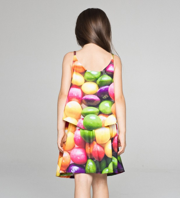 Sweets layered dress for kids Thumbnail 2